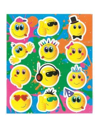 Traktatie stickers smile