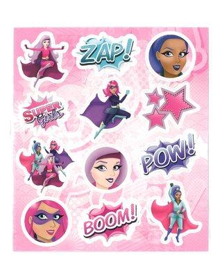 Traktatie stickers super girls