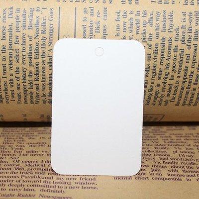 Wit label rechthoek 4 x 6 cm 10 stuks