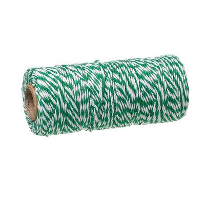 Bakkerstouw groen wit 90 meter