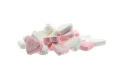 Fortuin pepermunt hartjes wit-roze